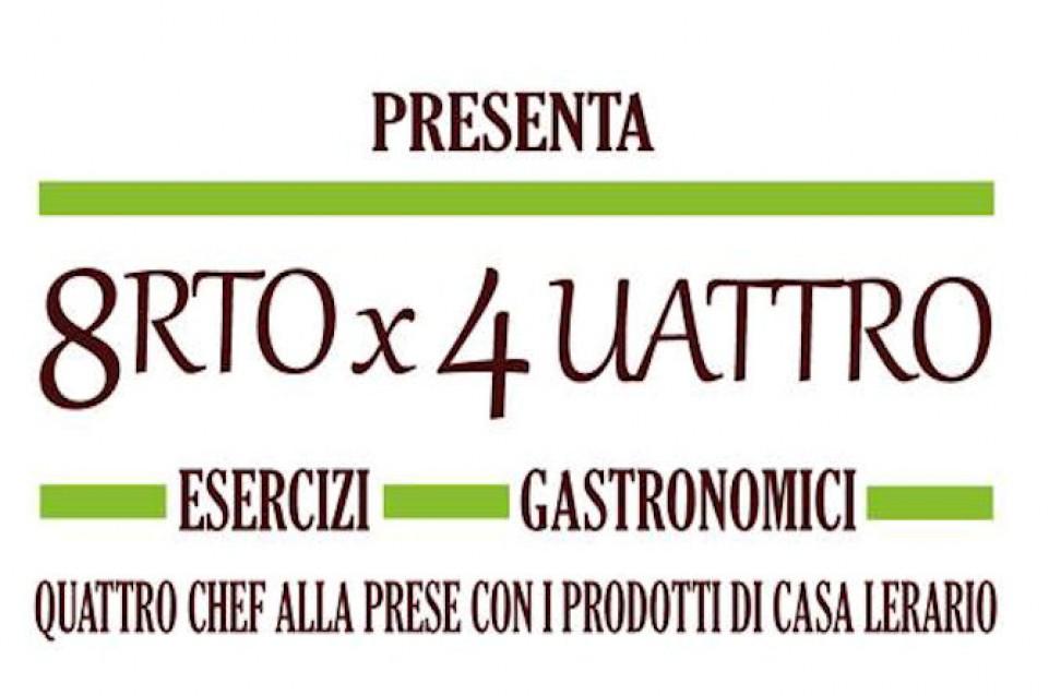 8rto per 4uattro: da gennaio a maggio cucina stellata a Melizzano