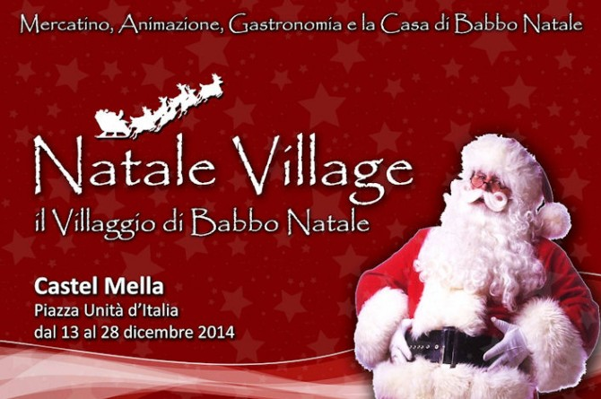 A Castel Mella fino al 28 dicembre vi aspetta il Villaggio di Natale