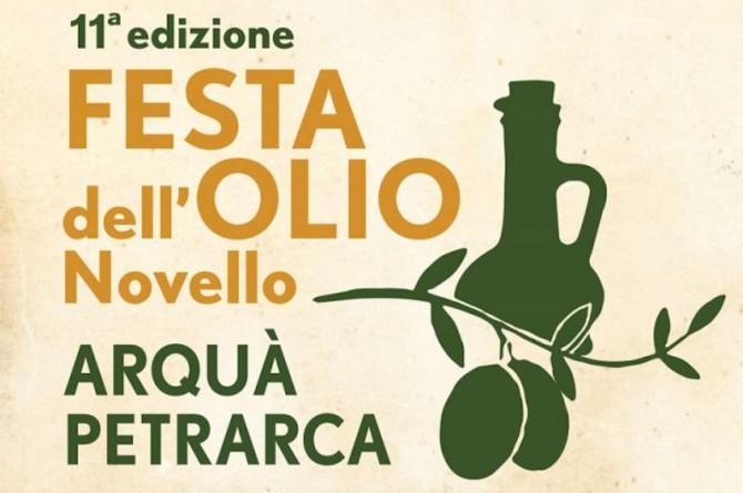Ad Arquà Petrarca il 30 novembre arriva la XI edizione della Festa dell'Olio