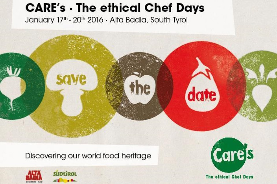 "Dal 17 al 20 gennaio in Alta Badia appuntamento con ""CARE's - The ethical Chef Days"""