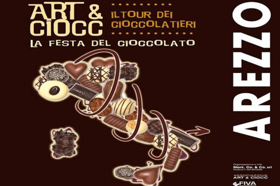 Art&Cioc, la Festa del Cioccolato, arriva ad Arezzo dal 20 al 22 febbraio