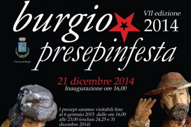 """Dal 21 dicembre al 6 gennaio a Burgio torna """"Presepeinfesta 2014"""""""