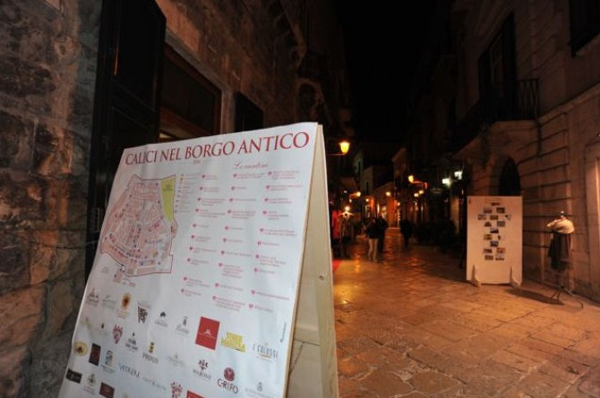 Calici nel Borgo Antico: dal 21 al 23 novembre a Bisceglie la festa del vino pugliese