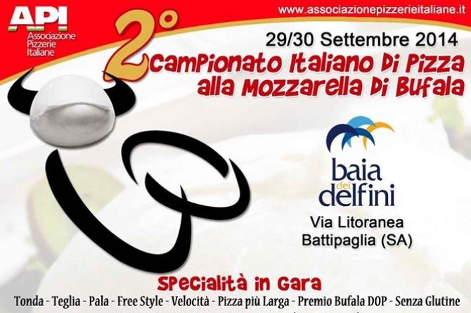Il 29 e 30 settembre torna il Campionato Italiano di Pizza alla Mozzarella di Bufala