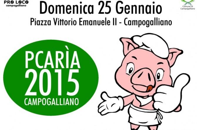 """Il 25 gennaio a Campogalliano torna """"La pcarìa: il maiale in Piazza"""" 2015"""