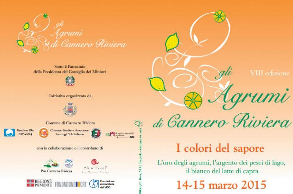 Il 14 e 15 marzo a Cannero Riviera arriva il profumo degli agrumi!