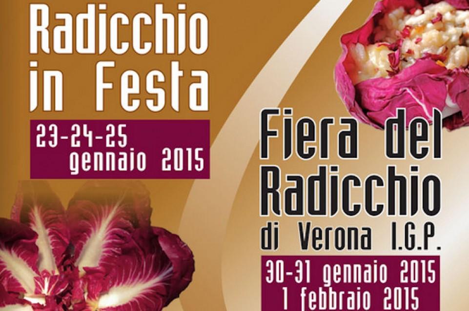A Casaleone dal 23 gennaio all'1 febbraio si celebra il radicchio di Verona
