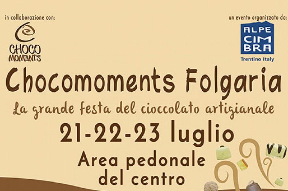 Chocomoments Folgaria: dal 21 al 23 luglio in Alpe Cimbra arriva il cioccolato