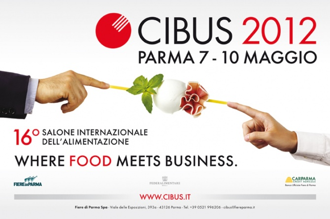Cibus Parma 7-10 maggio 2012