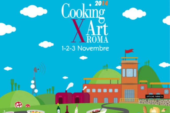 Cooking For Art arriva a Roma dall'1 al 3 novembre