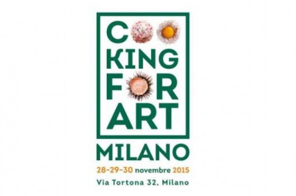 Dal 28 al 30 novembre arriva Cooking for Art Milano 2015