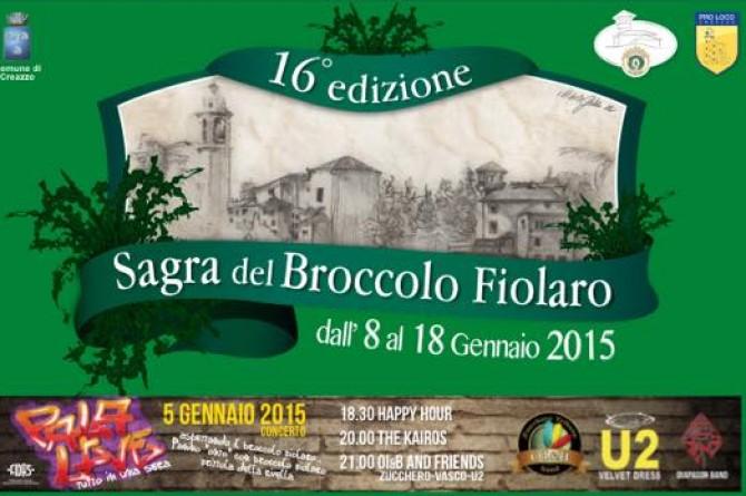Dall'8 al 18 gennaio a Creazzo vi aspetta la Sagra del Broccolo Fiolaro