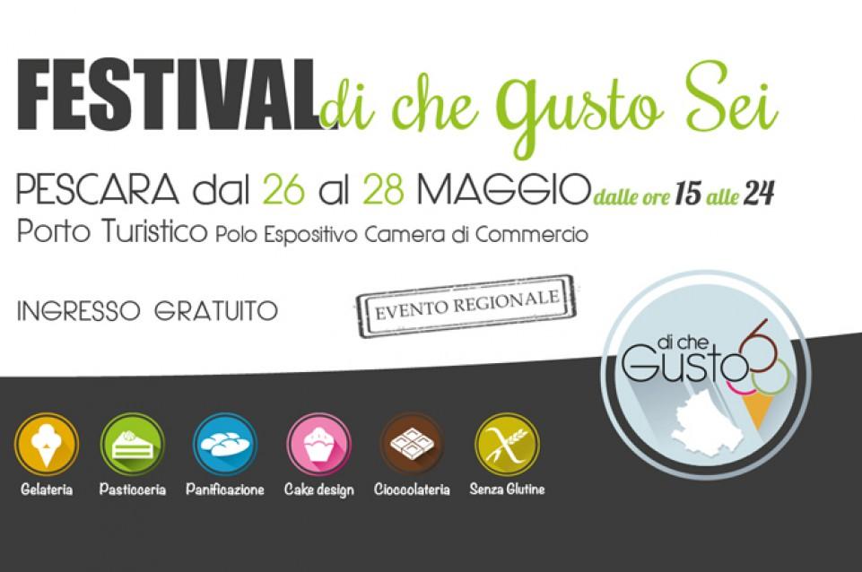 Di che Gusto sei: dal 26 al 28 maggio a Pescara