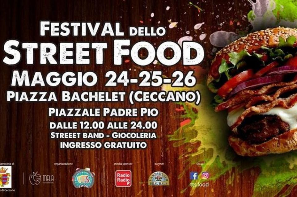 Dal 24 al 26 Maggio il Festival dello Street Food vi aspetta a Ceccano