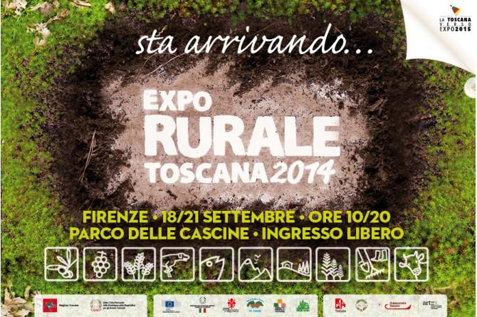 Dal 18 al 21 settembre a Firenze vi aspetta EXPO RURALE TOSCANA