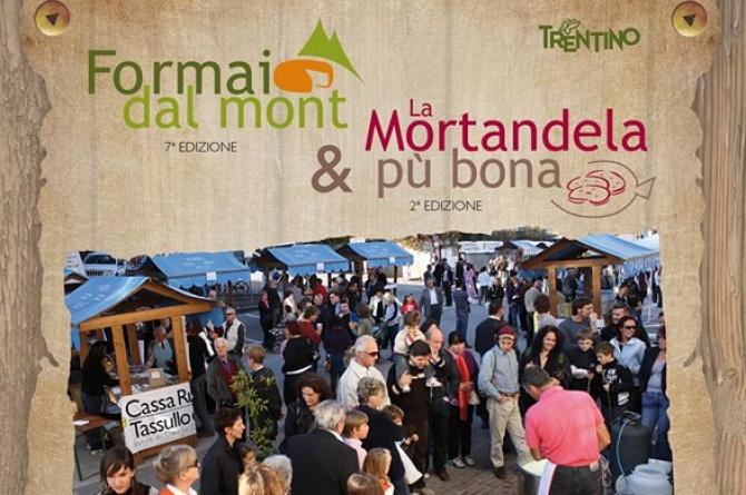 Formai dal Mont: Il 19 settembre a Tassullo la festa dei formaggi di malga