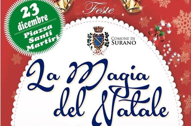 Il 23 dicembre a Surano il Natale diventa magico