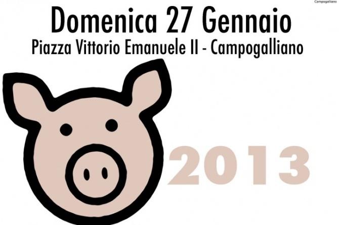 La Pcaria: Il Maiale in Piazza 2013, il 27/01/2013 a Campogalliano (MO)