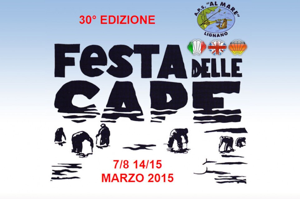 """A Marzo a Lignano Sabbiadoro torna la """"Festa delle Cape"""", con tante delizie a base di pesce"""