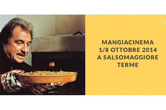 Mangiacinema: dall'1 all'8 ottobre a Salsomaggiore cibo goloso e cinema d'autore