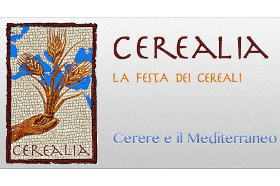 """Dal 17 al 19 aprile a Mestre arriva l'anticipazione di """"Cerealia. La Festa dei Cereali. Cerere e il Mediterraneo"""""""