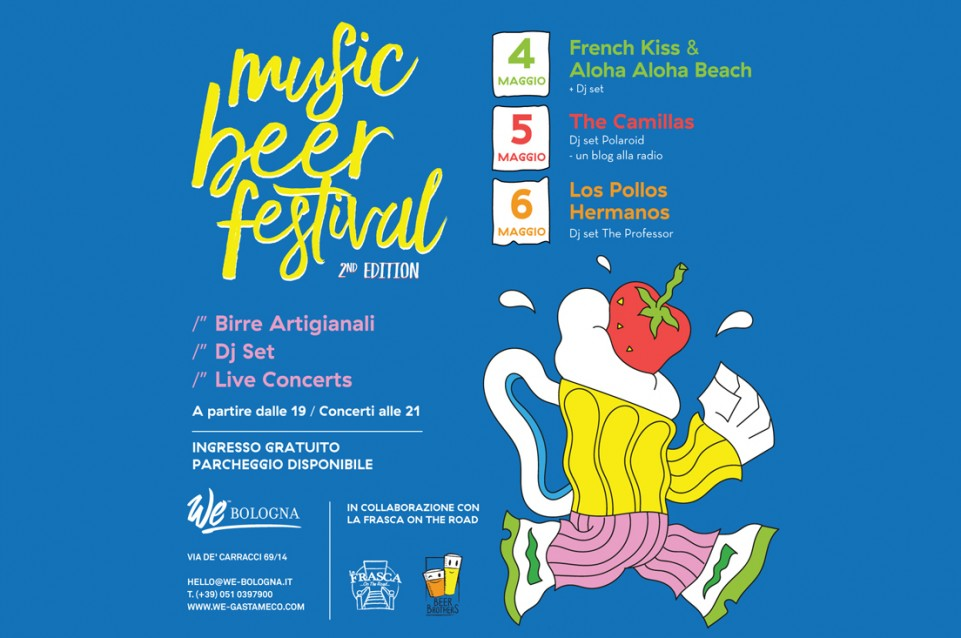 Music Beer Festival: dal 4 al 6 maggio: all'ostello We_Bologna