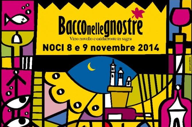 """L'8 ed il 9 novembre a Noci si festeggia l'autunno con  """"Bacco nelle gnostre vino novello e caldarroste"""""""