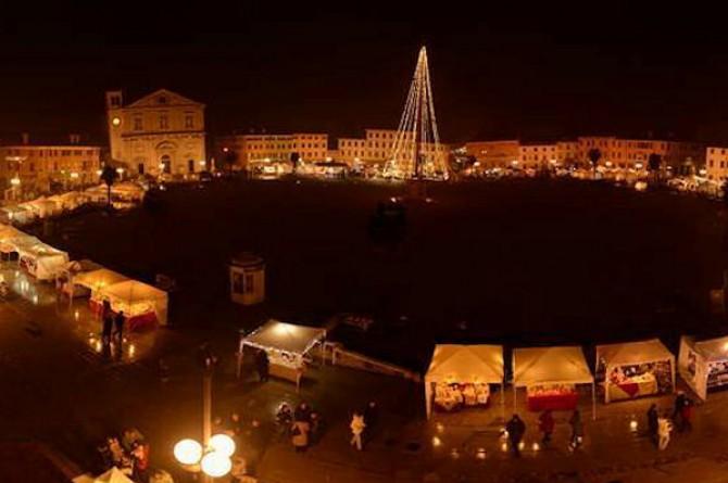 Il 20 e il 21 dicembre a Palmanova arriva il mercatino di Natale più grande del Friuli Venezia Giulia