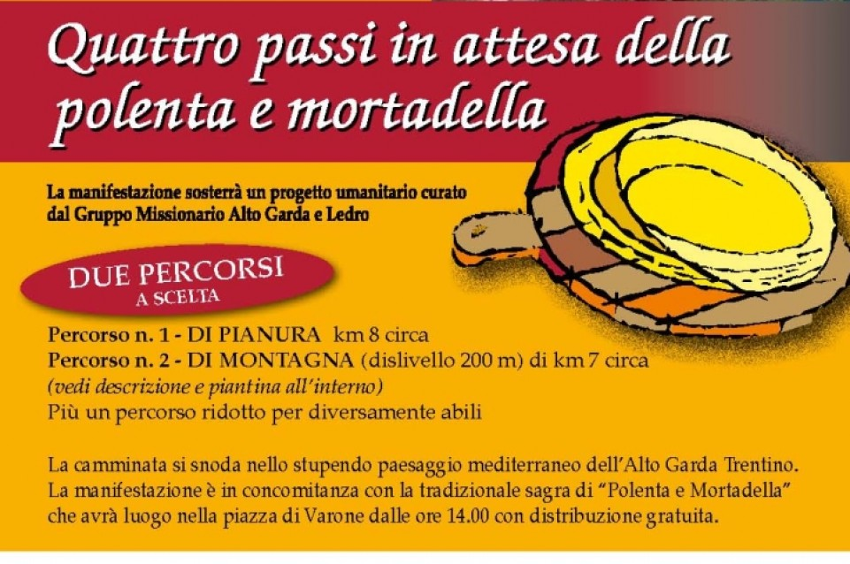 Polenta e mortadella: tradizione e gusto vi aspettano il 22 febbraio a Riva del Garda