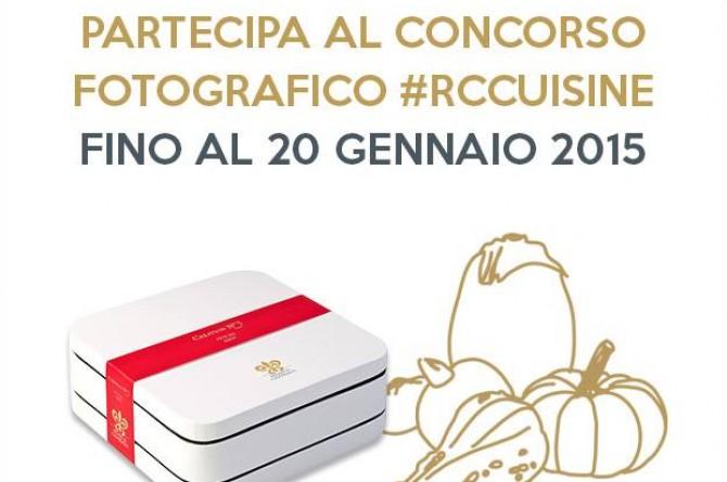 #RCcusine: il concorso per gli chef creativi!