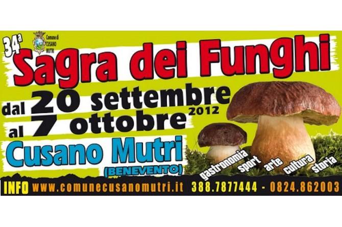 Sagra dei Funghi di Cusano Mutri, dal 20 settembre al 7 ottobre
