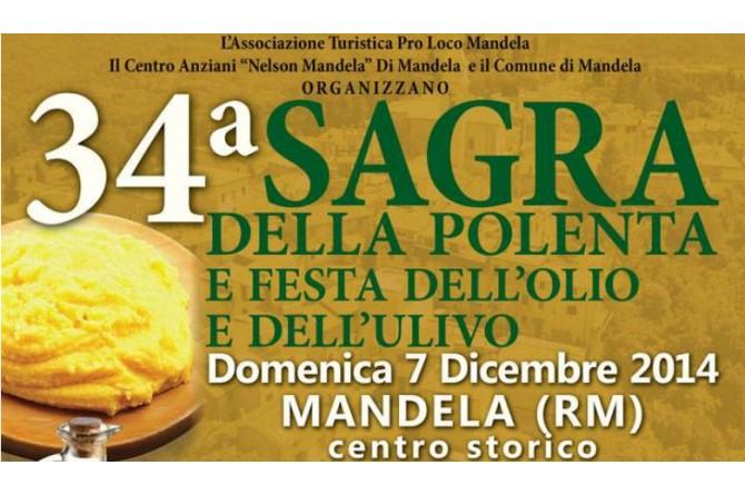 Sagra della polenta e festa dell'olio e dell'ulivo: a Mandela domenica 7 dicembre