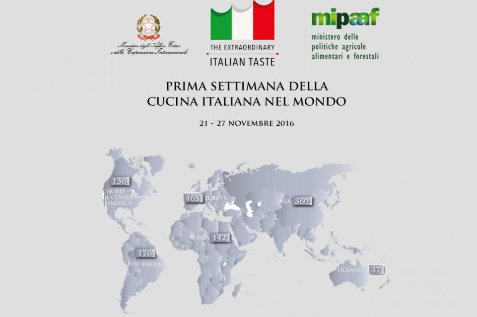 Settimana della Cucina Italiana nel Mondo: dal 21 al 27 novembre ...