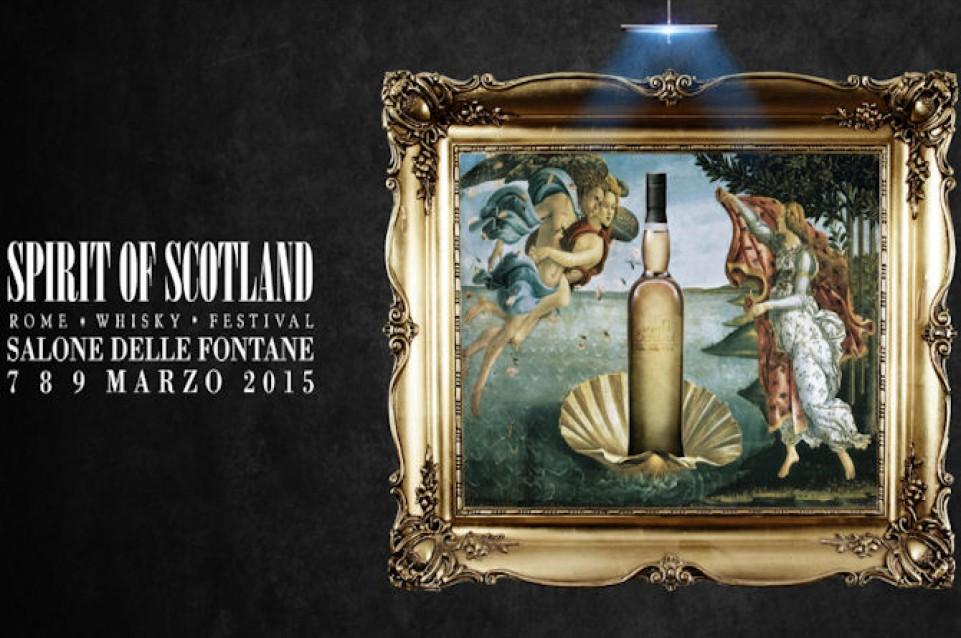 Spirit of Scotland 2015: a Roma dal 7 al 9 marzo torna la festa del whisky di malto