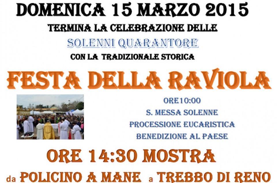 """Il 14 e 15 marzo a Trebbo di Reno si celebra la tradizione con la """"Festa della raviola"""""""