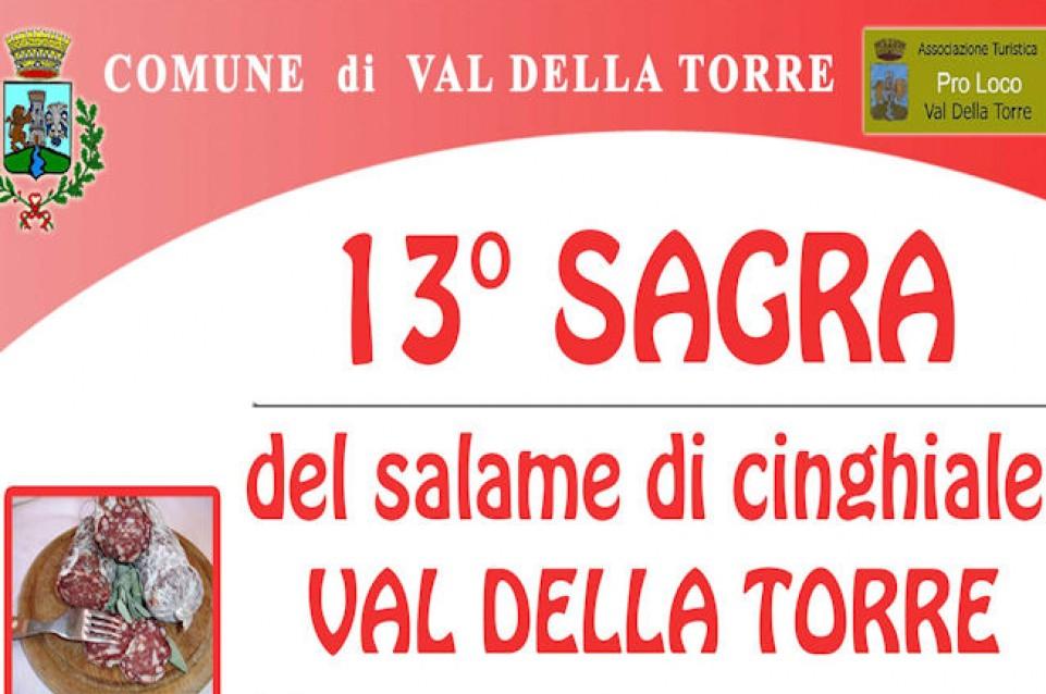 """A Val della Torre il 29 marzo torna la """"Sagra del Salame di Cinghiale"""""""