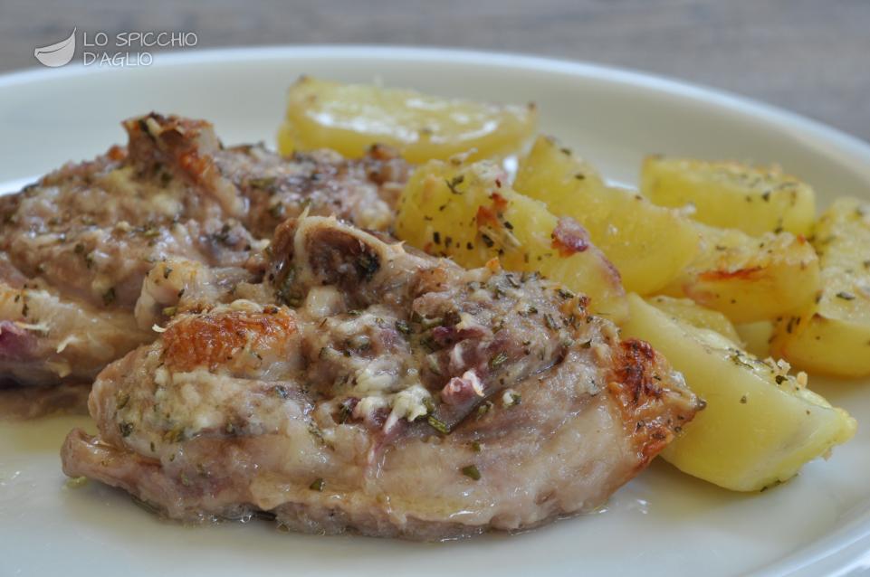 Conosciuto Ricetta - Agnello al forno con patate - Le ricette dello spicchio  OH02