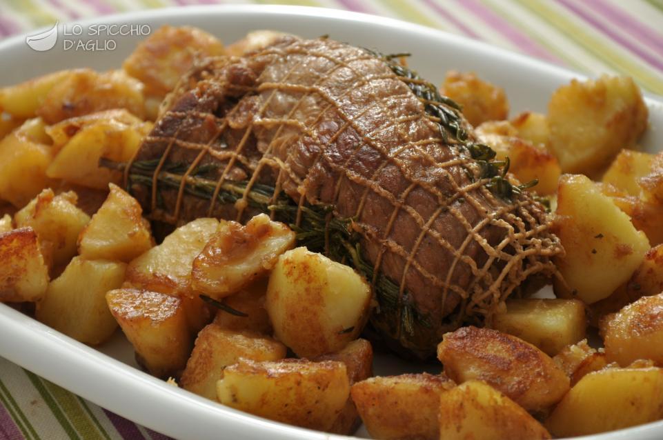 Famoso Ricetta - Arrosto al rosmarino - Le ricette dello spicchio d'aglio AH84