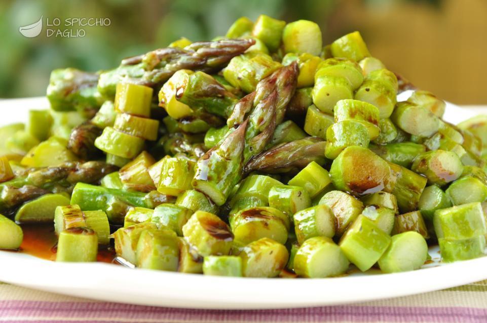 Ben noto Ricette - Contorni - Le ricette dello spicchio d'aglio MR09