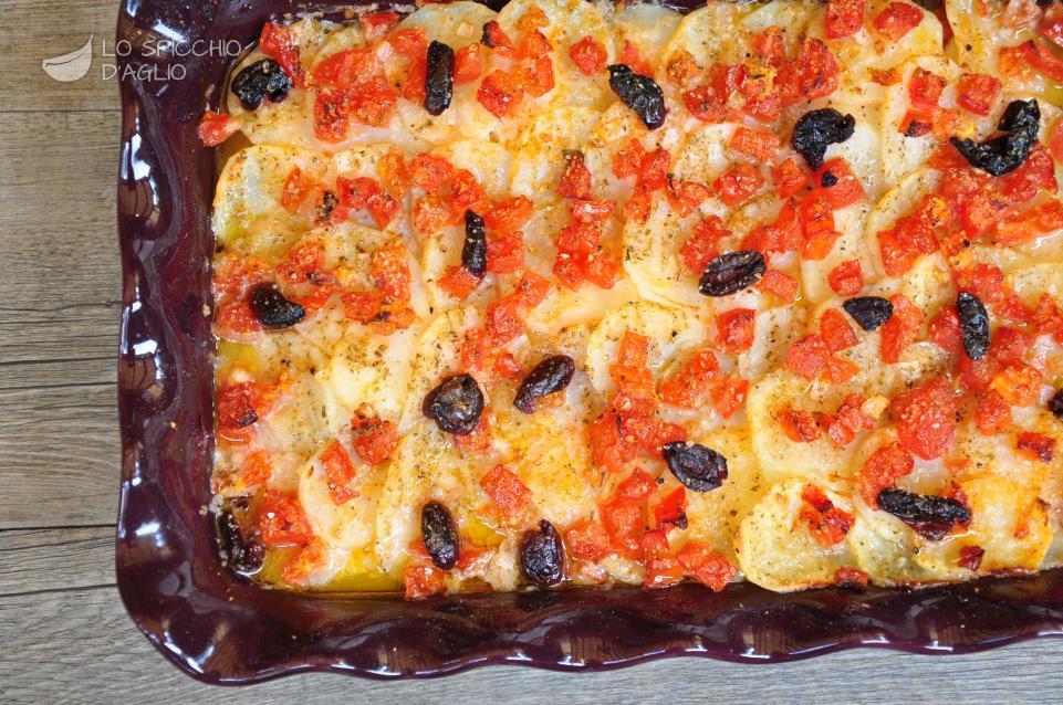 Ricetta Baccalà Al Forno Con Patate E Olive Le Ricette Dello