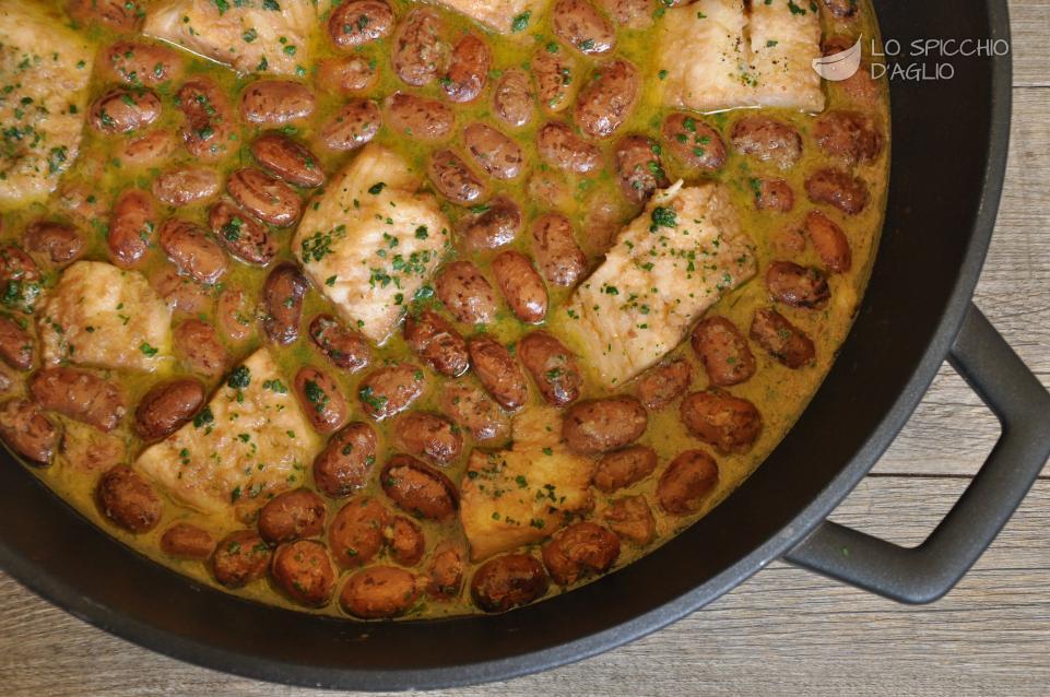 Patate in umido con fagioli