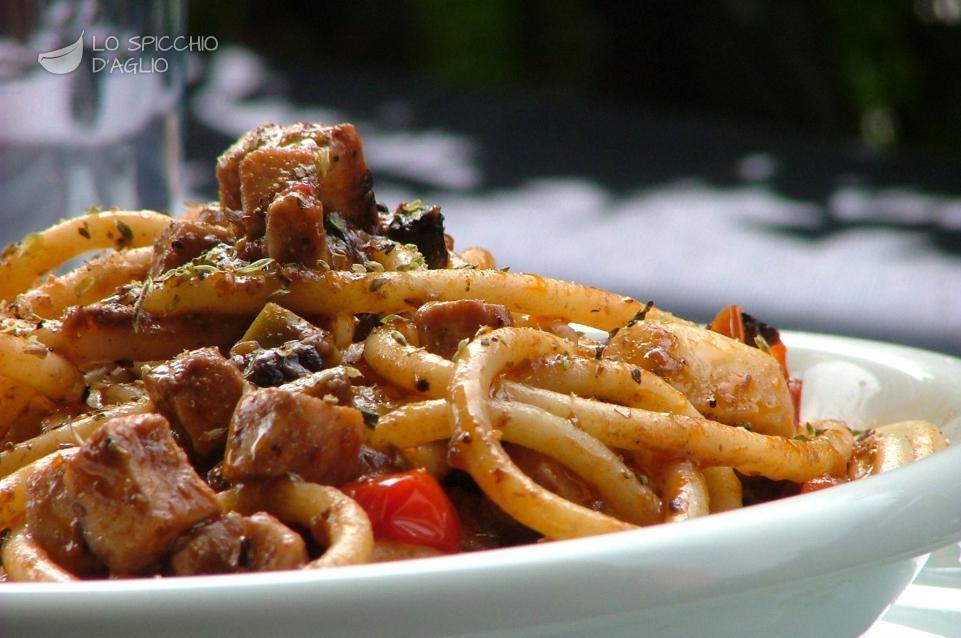 Ricette di cucina pasta con pesce spada