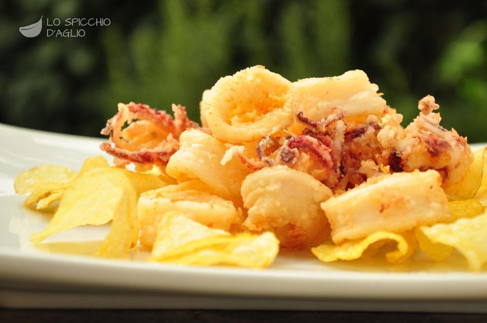 Ricetta Frittura Di Calamaretti E Patate Le Ricette Dello