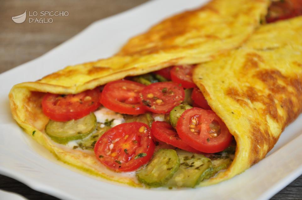 Ricetta calzone di uova alle zucchine trifolate le for Ricette veloci secondi piatti