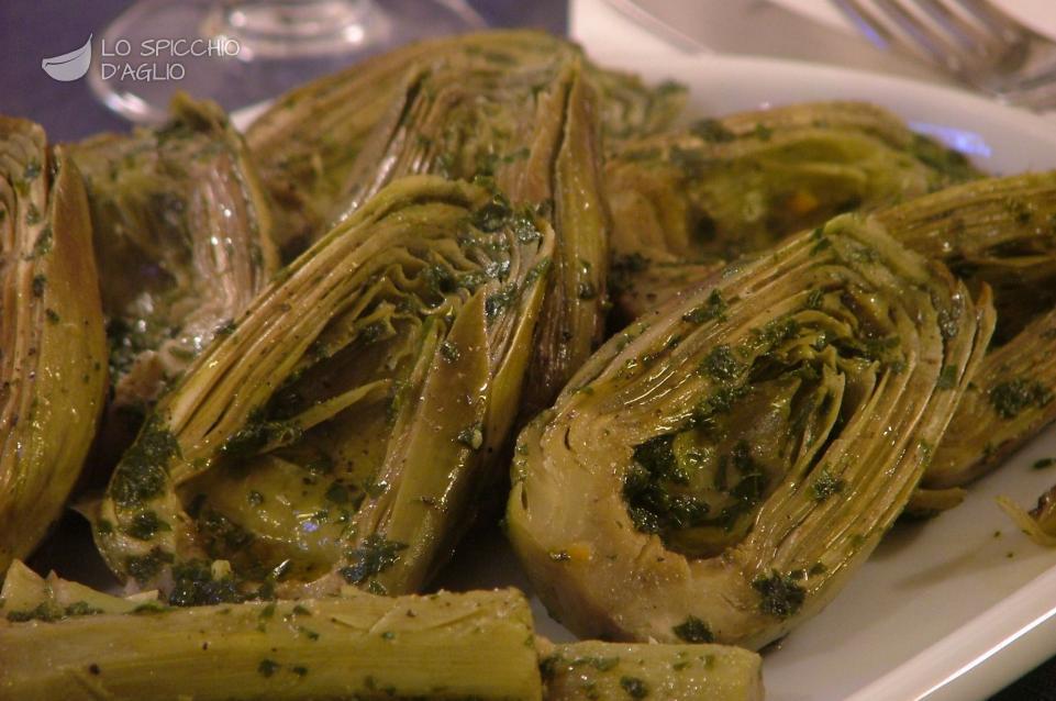 Ricetta carciofi in padella le ricette dello spicchio for Carciofi ricette