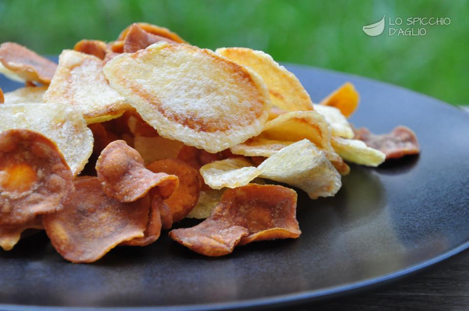 Sfogliette di carote e patate fritte