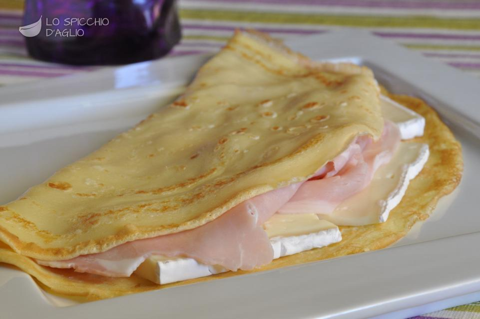 Crepes cotto e Brie