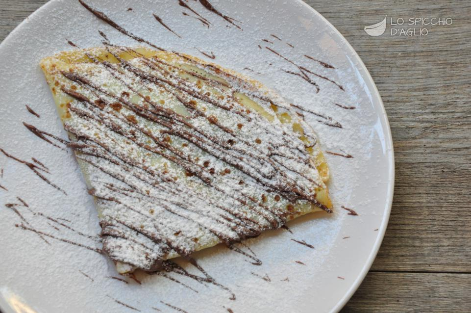 Crepes mascarpone e Nutella