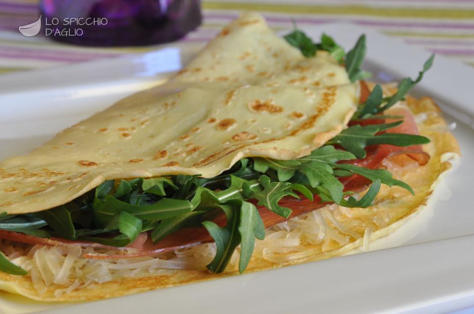 Crepe salate ricette con foto
