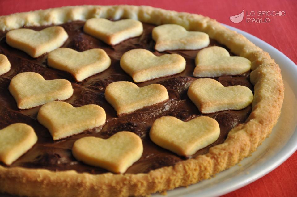 Ricetta Crostata Di San Valentino Le Ricette Dello Spicchio Daglio